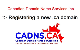How-to video - Register a .ca domain